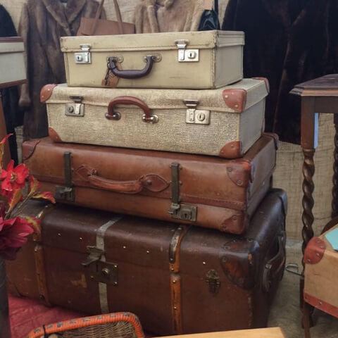 Vintage collectable suitcases